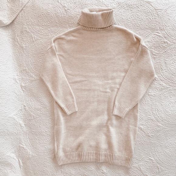 8b4f94f70b3 TopShop turtleneck sweater dress